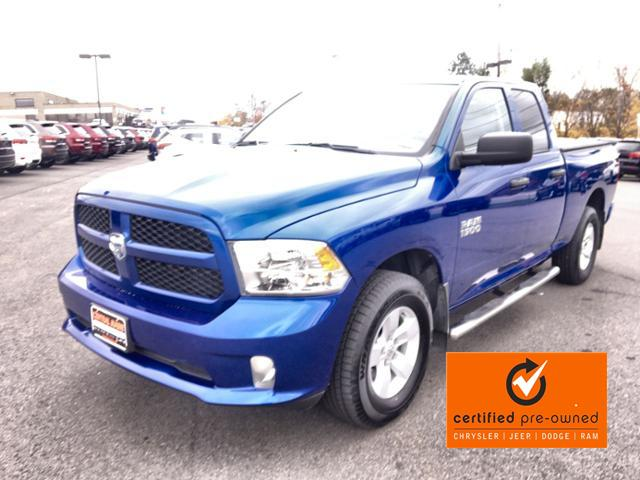 Pre-Owned 2018 Ram 1500 Express 4x4 Quad Cab 6'4 Box