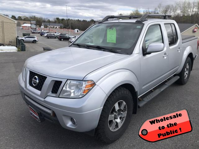 Pre-Owned 2011 Nissan Frontier 4WD Crew Cab SWB Auto PRO-4X