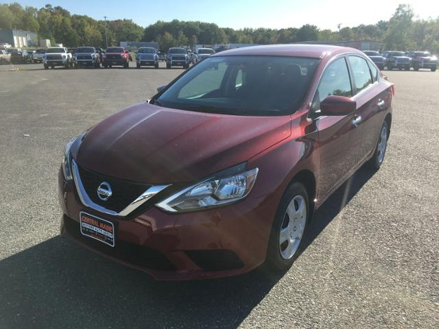 Pre Owned 2017 Nissan Sentra Sv Cvt In Waterville Jtu448a Central Maine Toyota