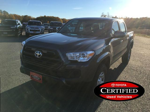 Certified Pre-Owned 2016 Toyota Tacoma 4WD Double Cab V6 AT SR