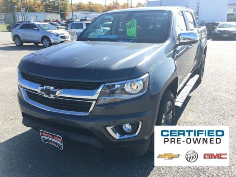 Pre-Owned 2016 Chevrolet Colorado 4WD Crew Cab 128.3 LT