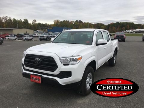 Certified Pre-Owned 2018 Toyota Tacoma SR Double Cab 5' Bed V6 4x4 AT
